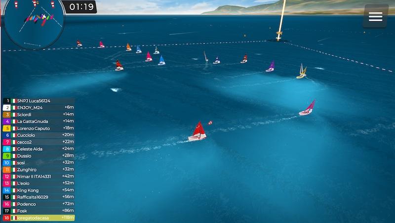 Successo per il secondo week end di regata virtuale del Club Nautico della Vela di Napoli
