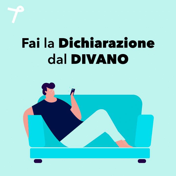 Italiani a casa: dichiarazione dei redditi via App