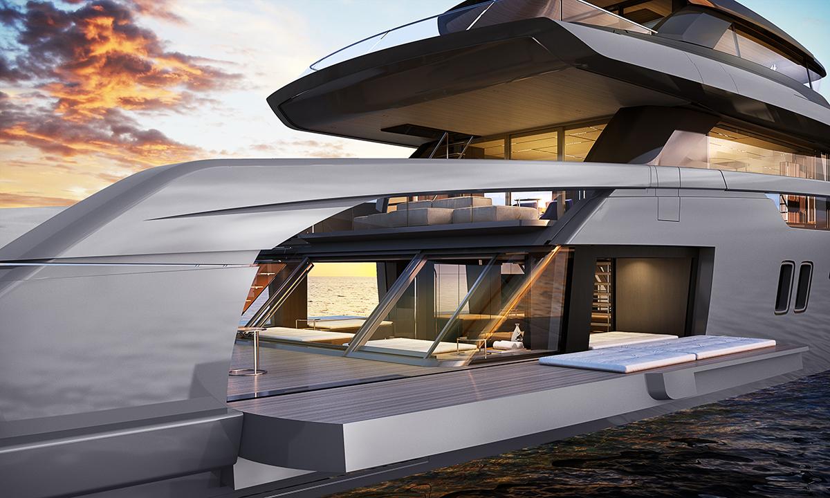 Sanlorenzo svela la terza novità 2020: il nuovo yacht crossover SX112