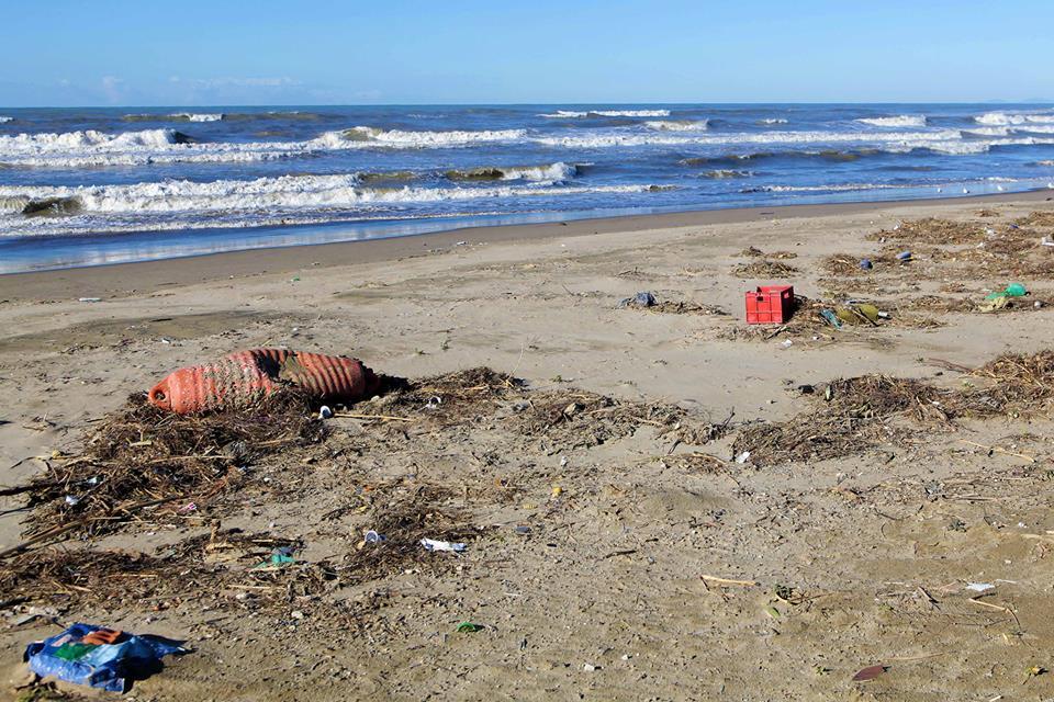 Inquinamento Riviera Domizia Flegrea, protestano residenti e balneari