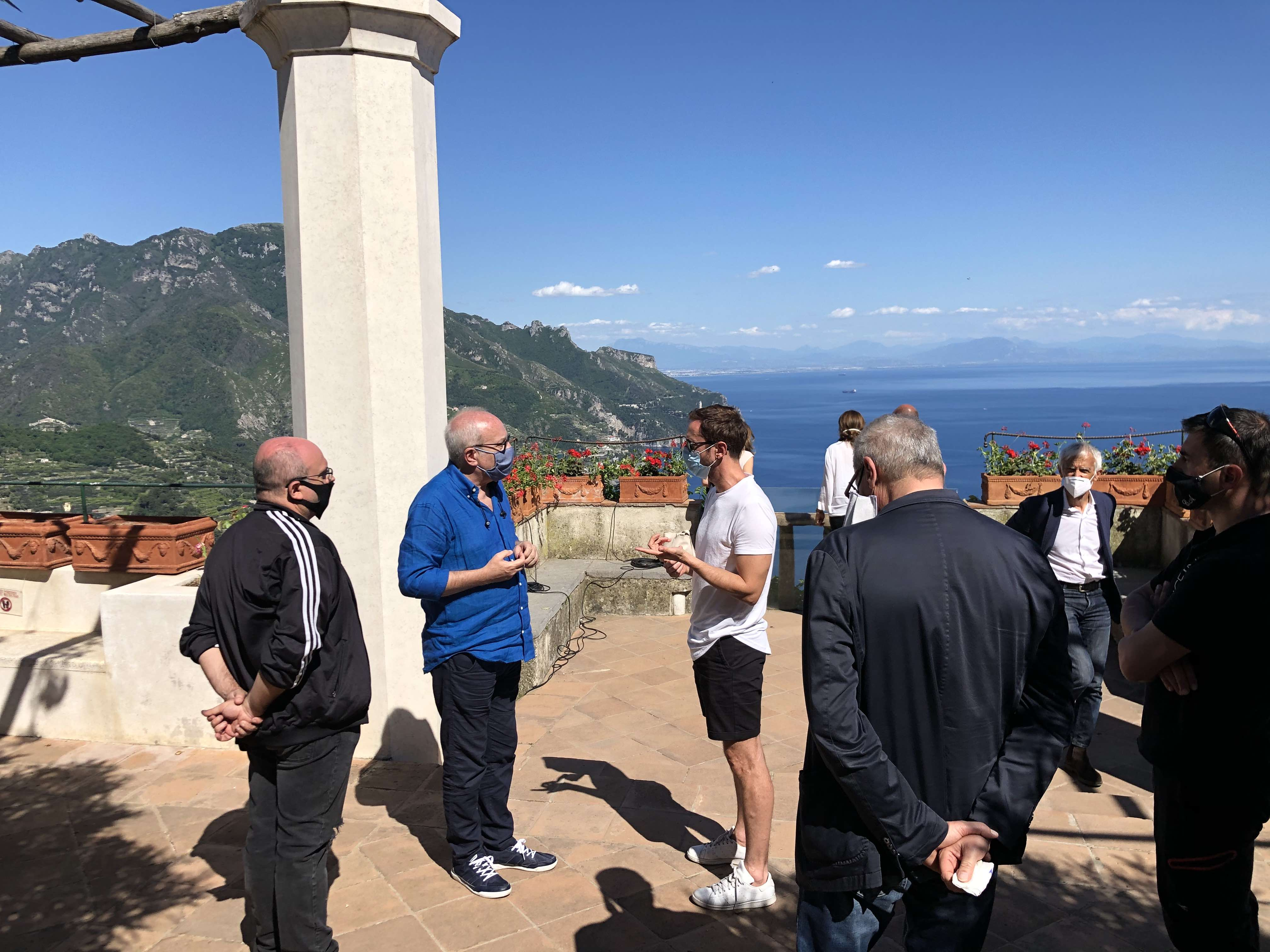 Villa Rufolo a Ravello, al via le riprese del lungometraggio per Wagner