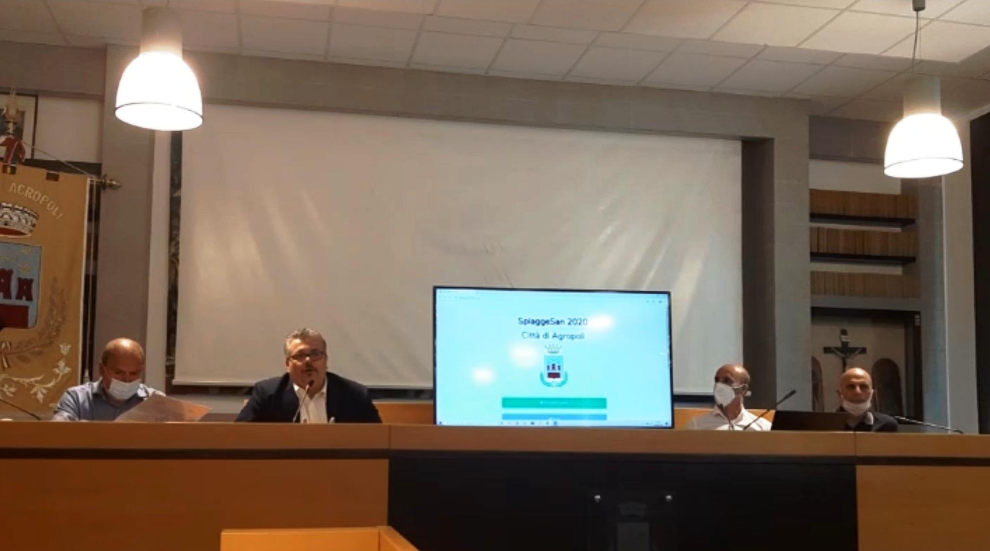 """Presentata l'app """"SpiaggeSan 2020 Città di Agropoli"""", ecco dove scaricarla"""