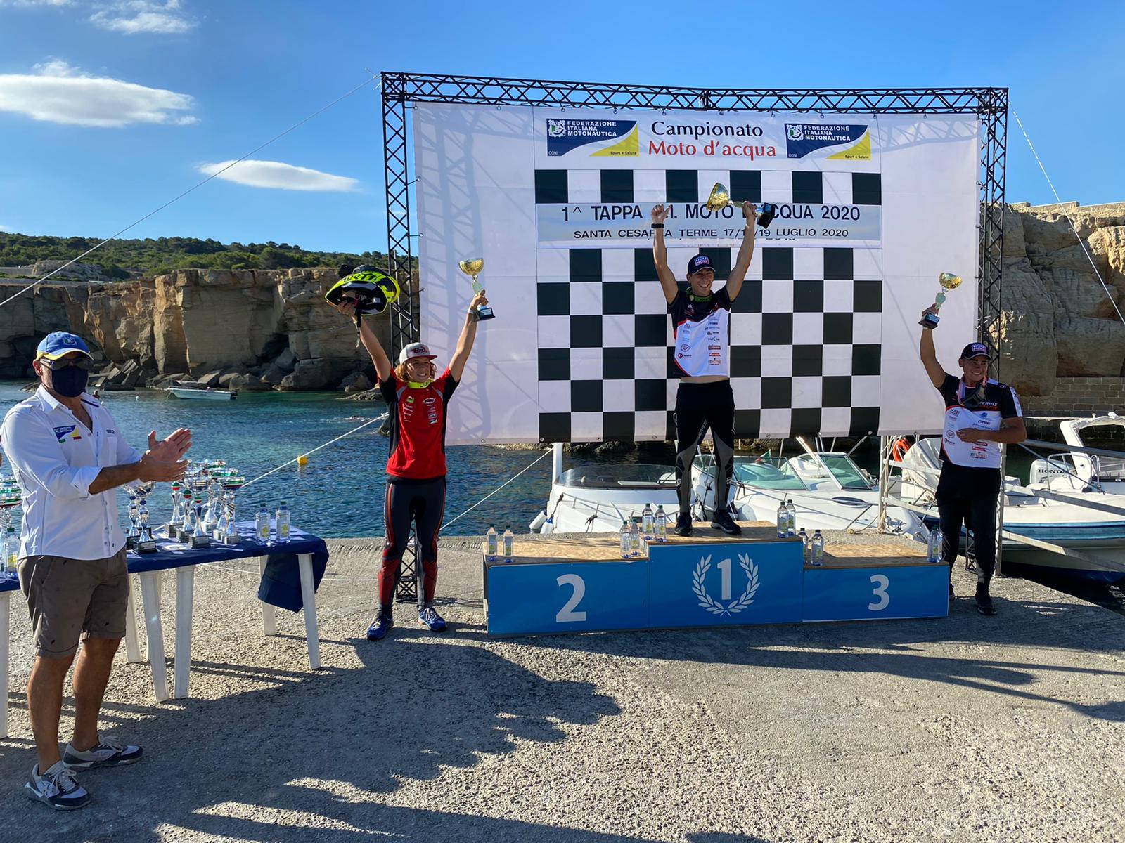 Campionato Italiano Moto d'Acqua conclusa la prima tappa del circuito