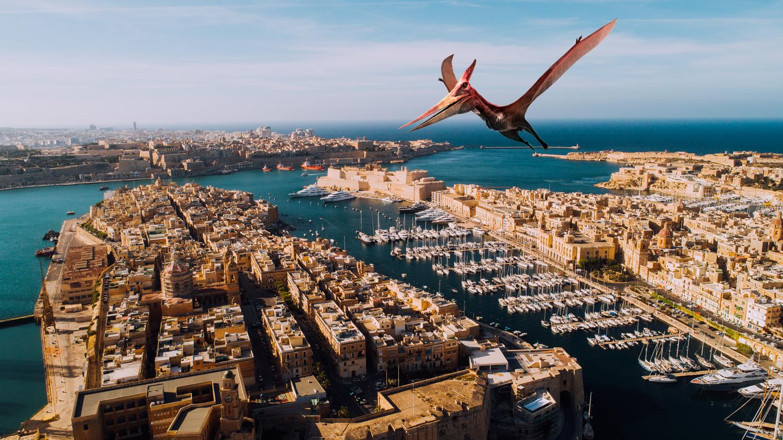 A Malta arrivano i dinosauri: al via sull'Isola le riprese di Jurassic World 3