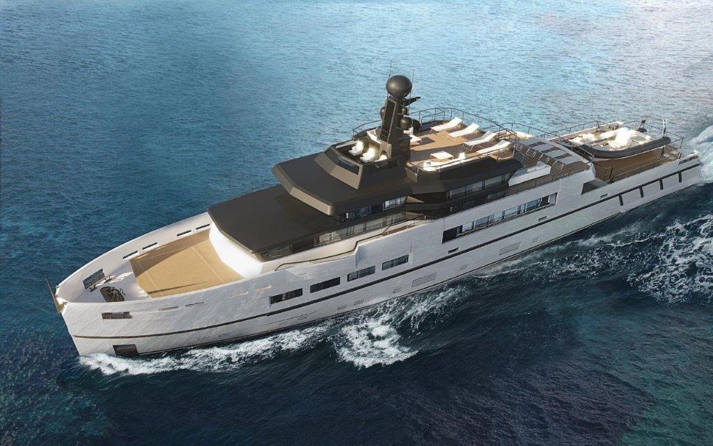 UP 40 – Explorer è il secondo dei tre concept proposti da Antonini Navi