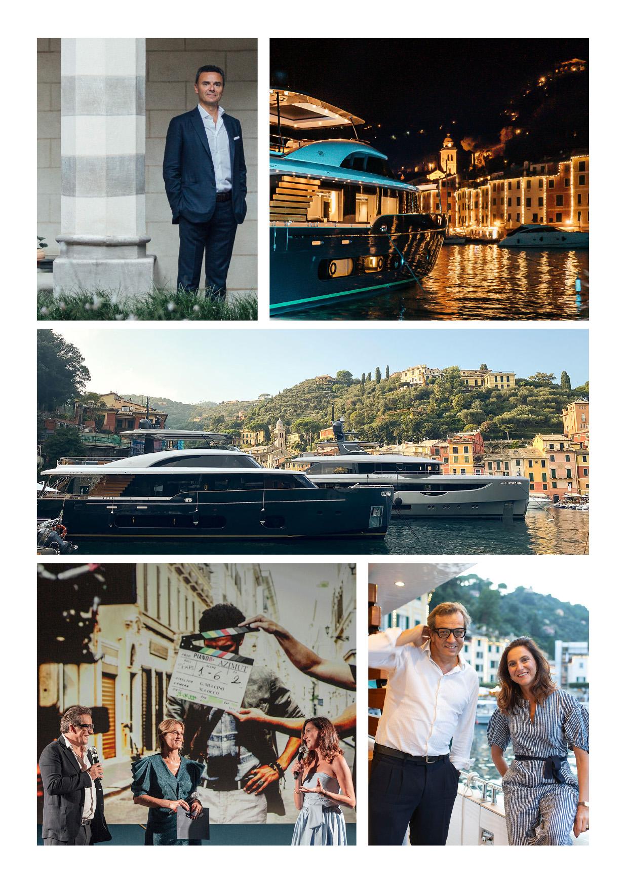 Azimut Yachts, a Portofino per per celebrare il nuovo Magellano 25 Metri