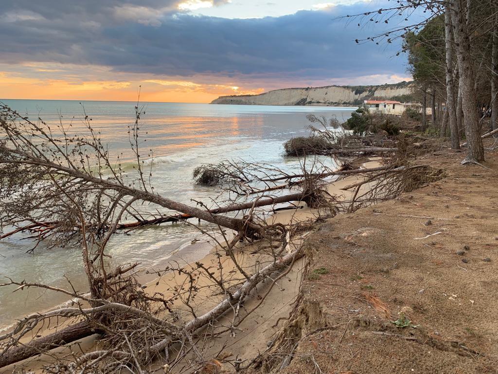 Sicilia, dalla Regione ok al ripascimento della spiaggia di Eraclea Minoa