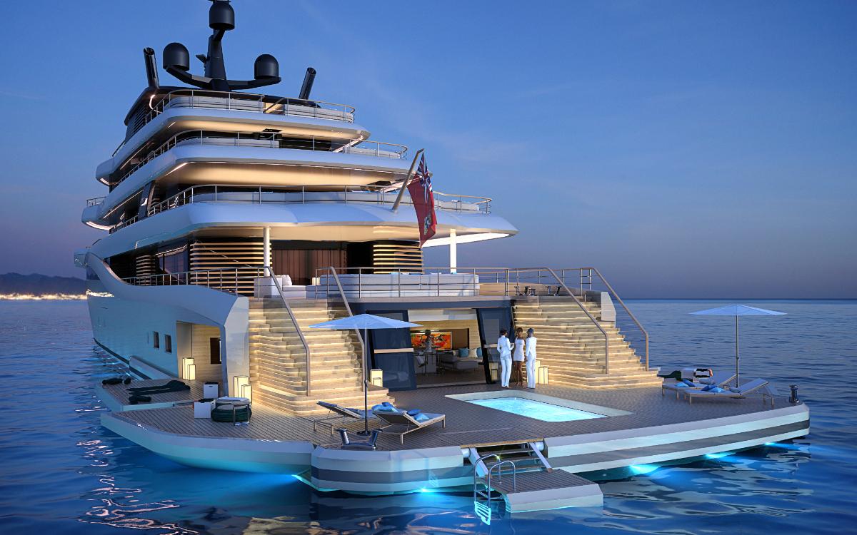 The Island, il concept di beach club estensibile firmato Nauta Design