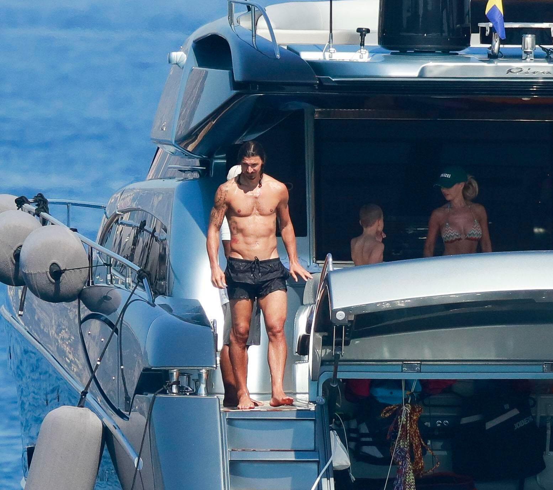 yacht ibrahimovic