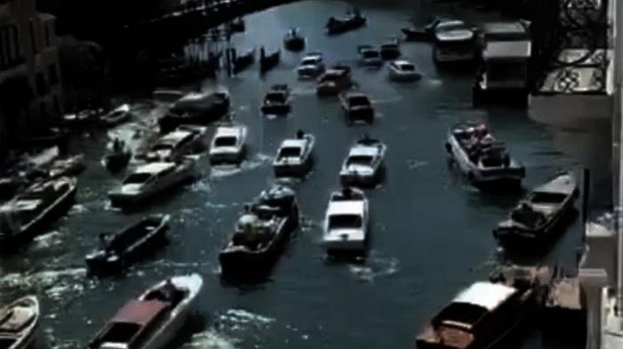 g20 venezia canal grande ingorgo