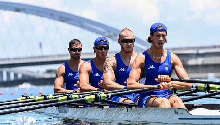 italia canottaggio bene a tokyo olimpiadi