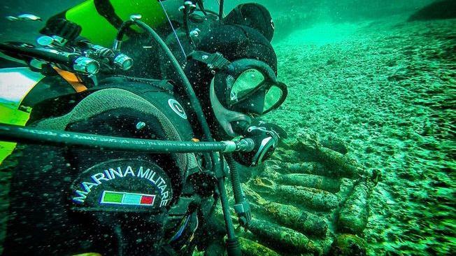 licata in mare residuati bellici