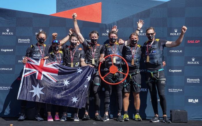 slingsby e gli australiani vincono il sailgp di plymouth