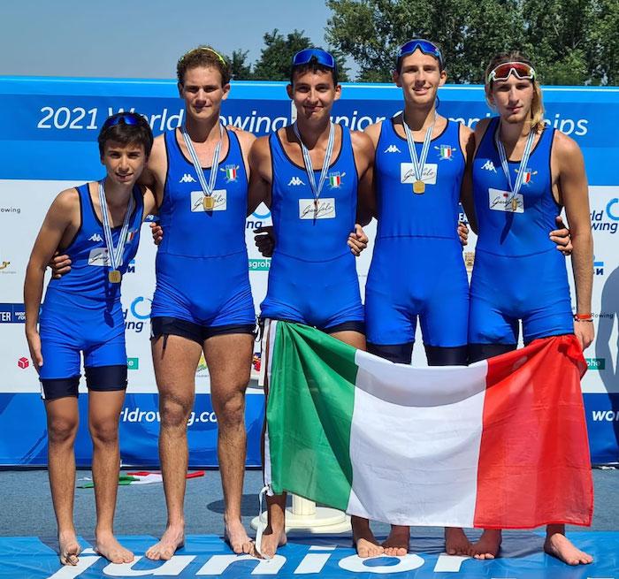 mondiali canottaggio junior italia 3