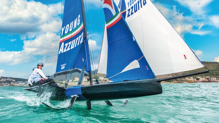 Youth Foiling Gold Cup Young Azzurra