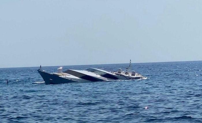 yacht ponza
